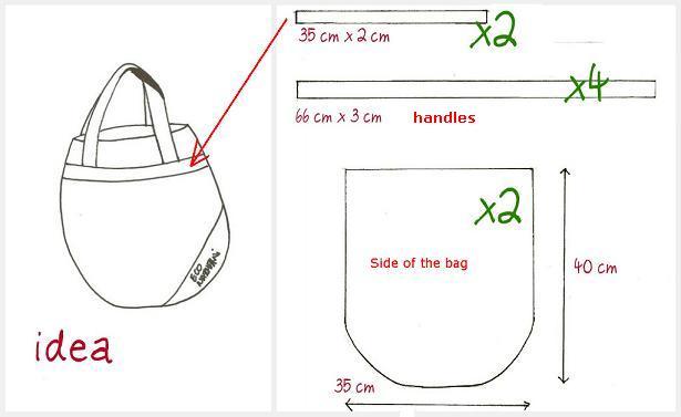 shopping bag pattern image